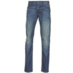 vaatteet Miehet Slim-farkut 7 for all Mankind RONNIE ELECTRIC MIND Blue