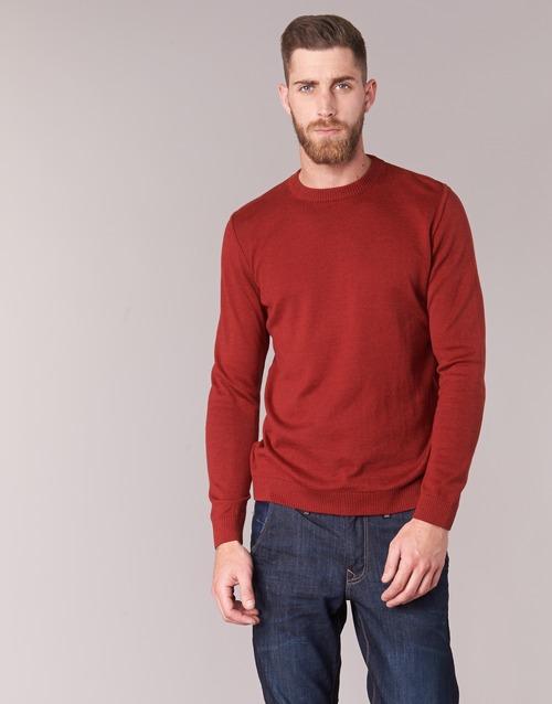 vaatteet Miehet Neulepusero BOTD ELABASE ROUND Red