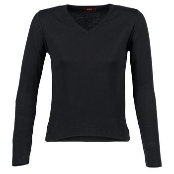 vaatteet Naiset Neulepusero BOTD ECORTA VEY Black