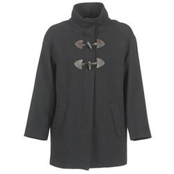 vaatteet Naiset Paksu takki Benetton DILO Black