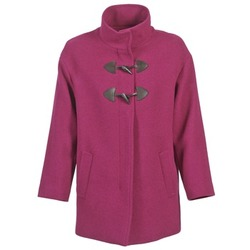 vaatteet Naiset Paksu takki Benetton DILO Pink