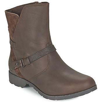 kengät Naiset Bootsit Teva DELAVINA LOW Brown