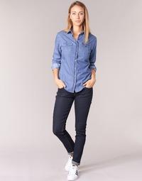vaatteet Naiset Slim-farkut Yurban ESQUINE Blue