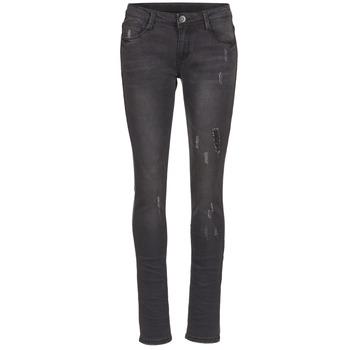 vaatteet Naiset Slim-farkut Yurban EVIGUILE Black