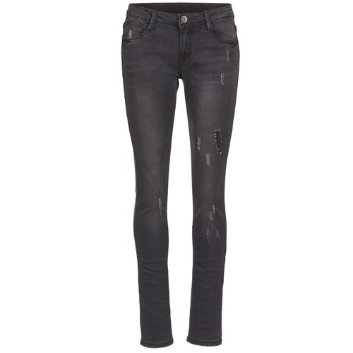 vaatteet Naiset Slim-farkut Yurban IETOULETTE Black