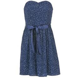 vaatteet Naiset Lyhyt mekko Morgan RPEPS Laivastonsininen