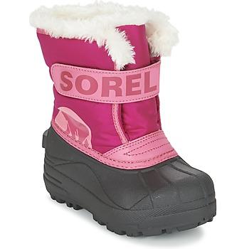 kengät Lapset Talvisaappaat Sorel CHILDRENS SNOW COMMANDER Pink