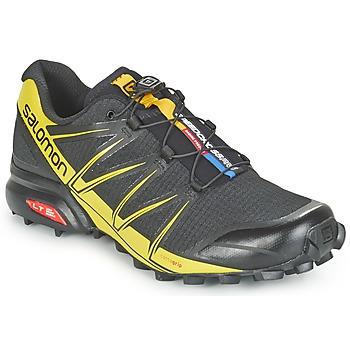 kengät Miehet Juoksukengät / Trail-kengät Salomon SPEEDCROSS PRO Black / Yellow