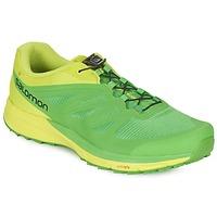 kengät Miehet Juoksukengät / Trail-kengät Salomon SENSE PRO 2 Green / Black