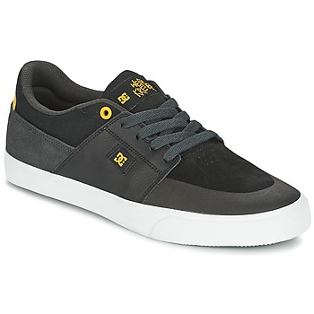 kengät Miehet Matalavartiset tennarit DC Shoes WES KREMER Black / Grey / Yellow