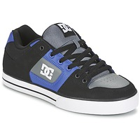 kengät Miehet Skeittikengät DC Shoes PURE Black / Blue / Grey