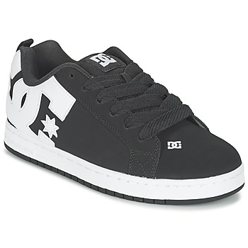 kengät Miehet Matalavartiset tennarit DC Shoes COURT GRAFFIK Black