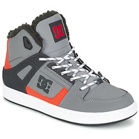 kengät Lapset Korkeavartiset tennarit DC Shoes REBOUND WNT B SHOE XSKN Grey / Black / Orange