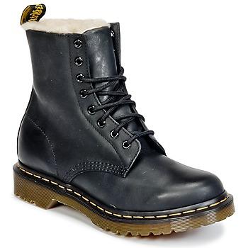 kengät Naiset Bootsit Dr Martens SERENA Black