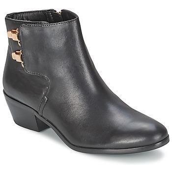 kengät Naiset Bootsit Sam Edelman PETER Black