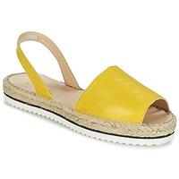 kengät Naiset Sandaalit ja avokkaat Anaki TEQUILAI Yellow