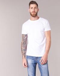 vaatteet Miehet Lyhythihainen t-paita BOTD ESTOILA White