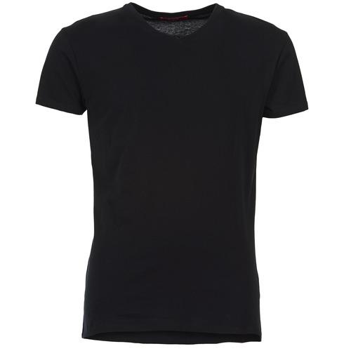 vaatteet Miehet Lyhythihainen t-paita BOTD ECALORA Musta