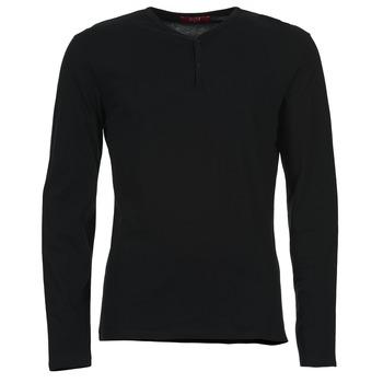 vaatteet Miehet T-paidat pitkillä hihoilla BOTD ETUNAMA Black