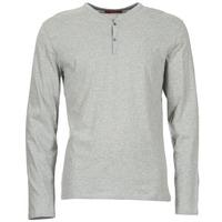 vaatteet Miehet T-paidat pitkillä hihoilla BOTD ETUNAMA Grey