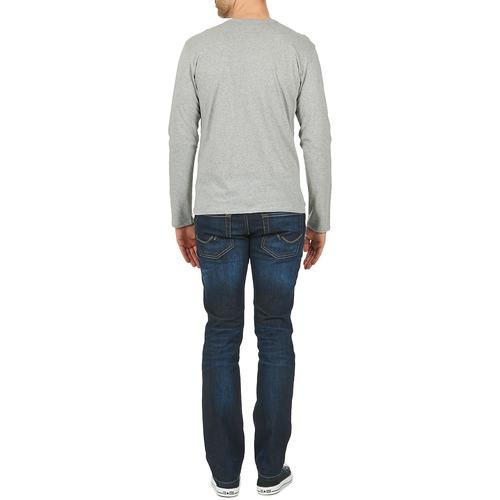 Botd Etunama Grey - Ilmainen Toimitus- Vaatteet T-paidat Pitkillä Hihoilla Miehet 12