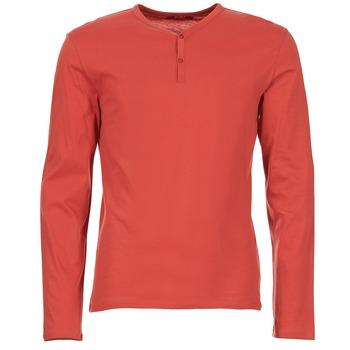 vaatteet Miehet T-paidat pitkillä hihoilla BOTD ETUNAMA Red