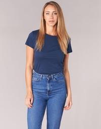 vaatteet Naiset Lyhythihainen t-paita BOTD EQUATILA Laivastonsininen