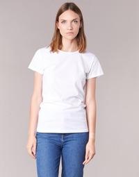 vaatteet Naiset Lyhythihainen t-paita BOTD EQUATILA White