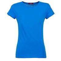 vaatteet Naiset Lyhythihainen t-paita BOTD EQUATILA Blue
