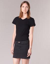 vaatteet Naiset Lyhythihainen t-paita BOTD EFLOMU Black