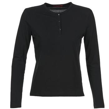 vaatteet Naiset T-paidat pitkillä hihoilla BOTD EBISCOL Black