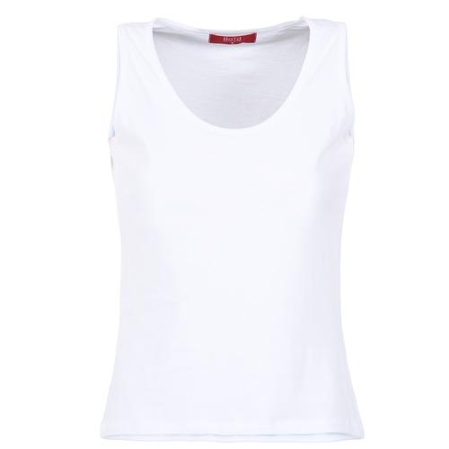 vaatteet Naiset Hihattomat paidat / Hihattomat t-paidat BOTD EDEBALA Valkoinen