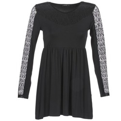 vaatteet Naiset Lyhyt mekko School Rag ROSELYN Musta