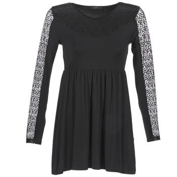 vaatteet Naiset Lyhyt mekko School Rag ROSELYN Black