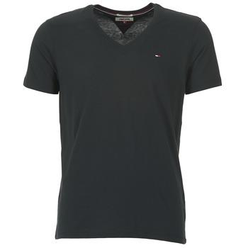 vaatteet Miehet Lyhythihainen t-paita Tommy Jeans MALATO Black