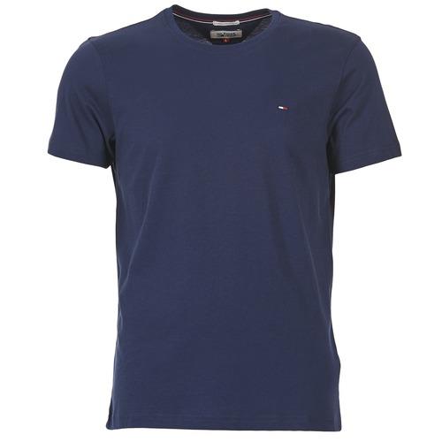 vaatteet Miehet Lyhythihainen t-paita Tommy Jeans OFLEKI Laivastonsininen