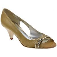 kengät Naiset Korkokengät Lea Foscati  Beige