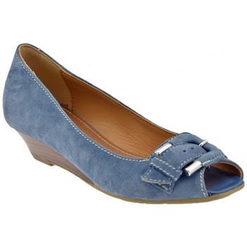 kengät Naiset Korkokengät Lea Foscati  Sininen