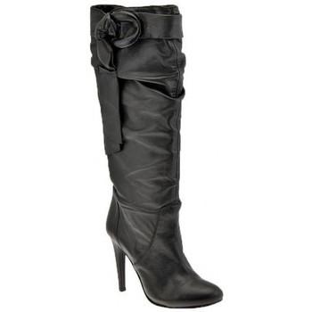 kengät Naiset Saappaat Ssamzie  Musta
