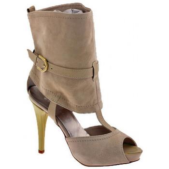kengät Naiset Korkokengät Ssamzie  Beige