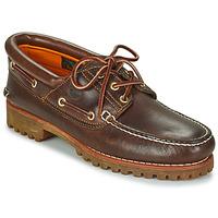 kengät Miehet Purjehduskengät Timberland 3 EYE CLASSIC LUG Ruskea