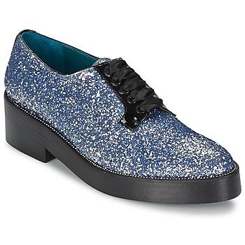 kengät Naiset Derby-kengät Sonia Rykiel 676318 Blue / Argenté