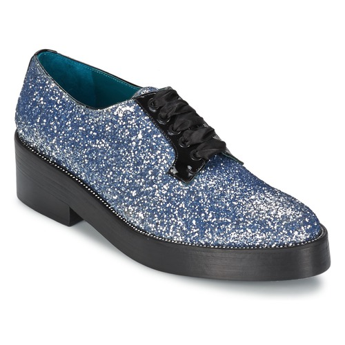 kengät Naiset Derby-kengät Sonia Rykiel 676318 Blue / Hopea