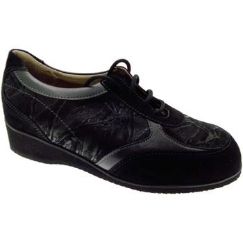 kengät Naiset Matalavartiset tennarit Calzaturificio Loren LOL8051n nero