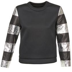 vaatteet Naiset Svetari American Retro DOROTHY Black / Argenté