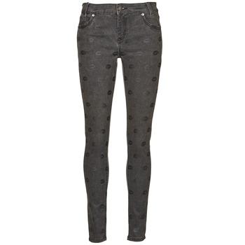 vaatteet Naiset Slim-farkut American Retro HELENA Grey
