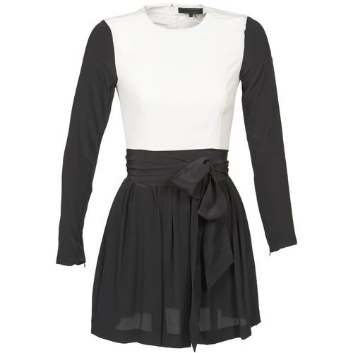 vaatteet Naiset Lyhyt mekko American Retro STANLEY Black / White