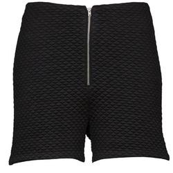 vaatteet Naiset Shortsit / Bermuda-shortsit American Retro JOSEPH S Musta