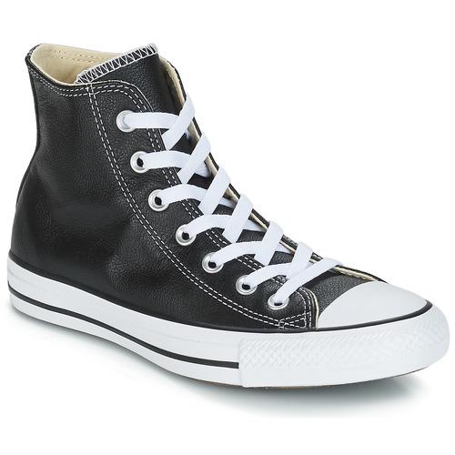 kengät Korkeavartiset tennarit Converse Chuck Taylor All Star CORE LEATHER HI Black