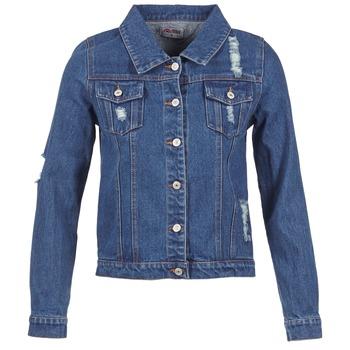 vaatteet Naiset Farkkutakki Yurban ESPINALE Blue / Fonce